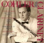 Cohler on Clarinet (Ongaku 024-101)