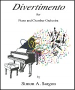 Divertimento for piano and orchestra (1994)